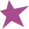Purple star icon